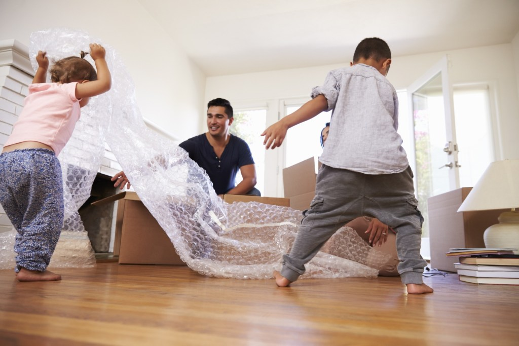 Make sure you have plenty of packing supplies on hand when getting ready to move.