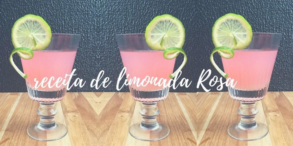 Aprenda a receita fácil e muito gostosa da Pink Lemonade. Um charme em sua recepção, um sucesso na sua pool party. E é a cara do verão: cor e sabor!