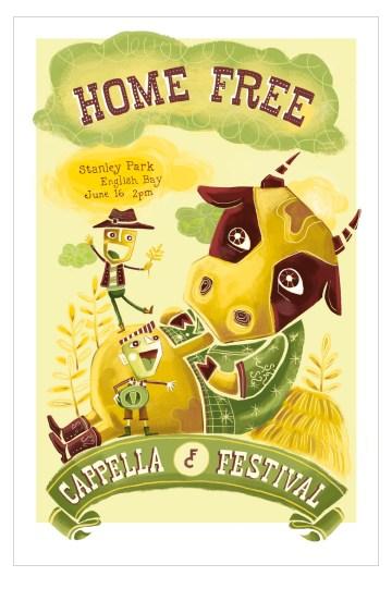 juliana-vieira-illustration-poster-cappella-music-festival-country