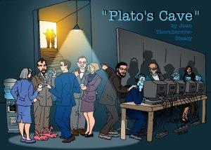 Modern Plato Cave Explained.
