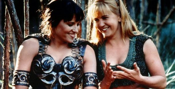 Xena and Gabrielle