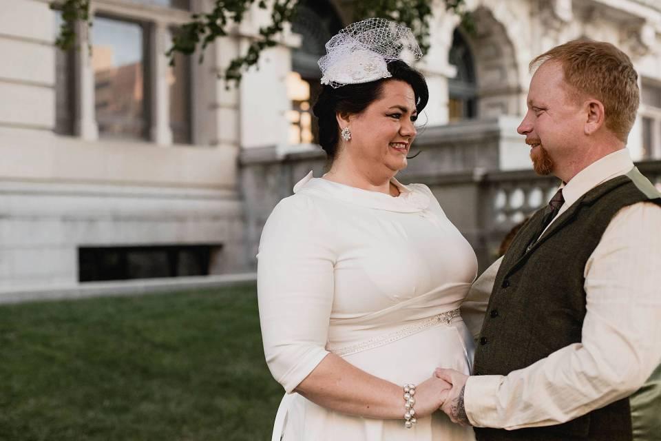 Omaha Courthouse wedding, omaha wedding photography