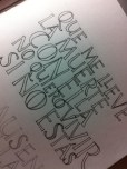 Letras dibujadas - Silvia Cordero