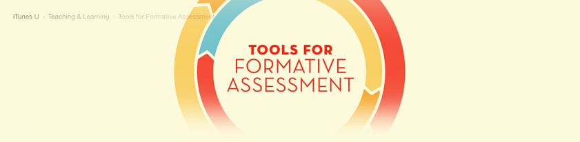 iTunes formative assessment Collection