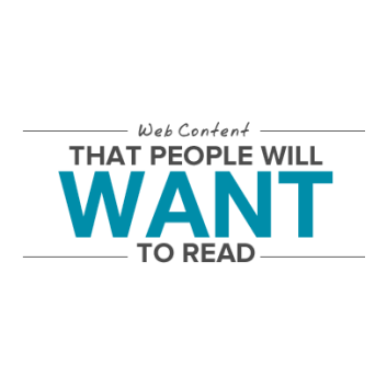 Web content that people want to read