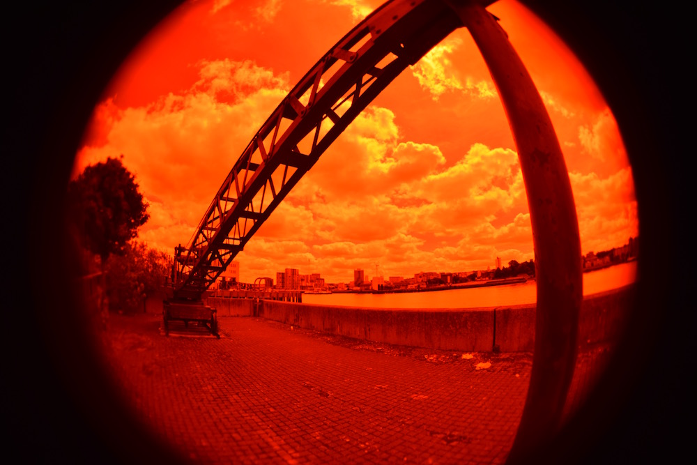 Julian Hand - Photography - London - Thames - Experimental - Red Filter