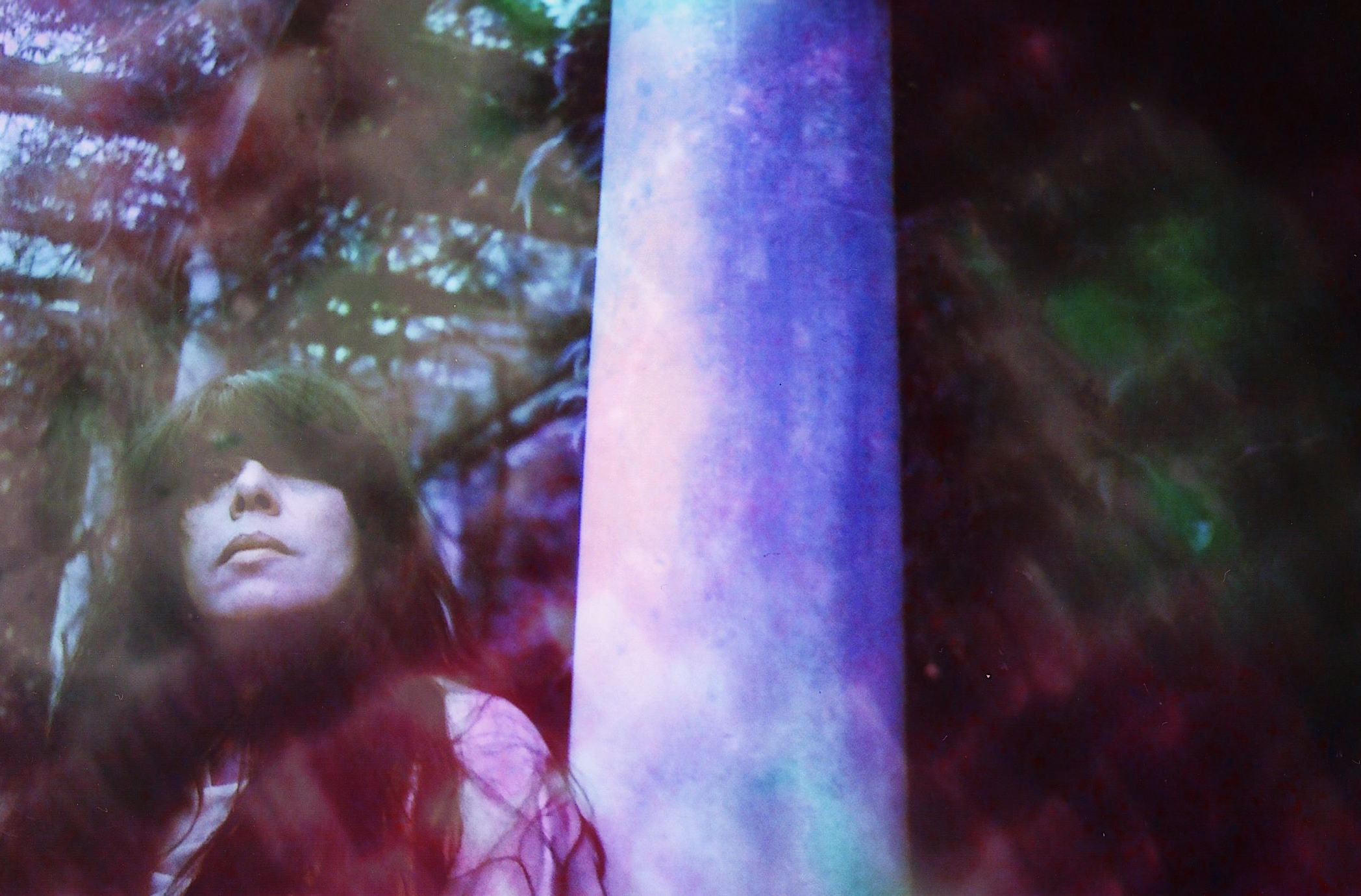 Emma Tricca - Hill Garden and Pergola - Hampstead Heath - Phot Shoot - Julian hand - Purple Chrome - Lomo - Lomography