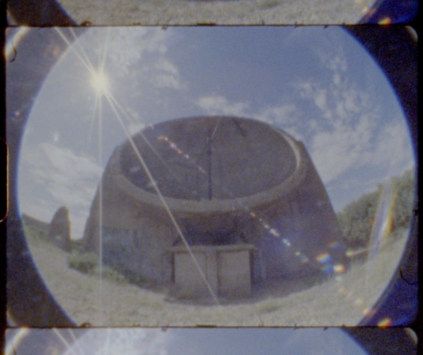 Sound Mirrors - Listening Ears - Dungeness - Denge - Super 8mm - Julian Hand