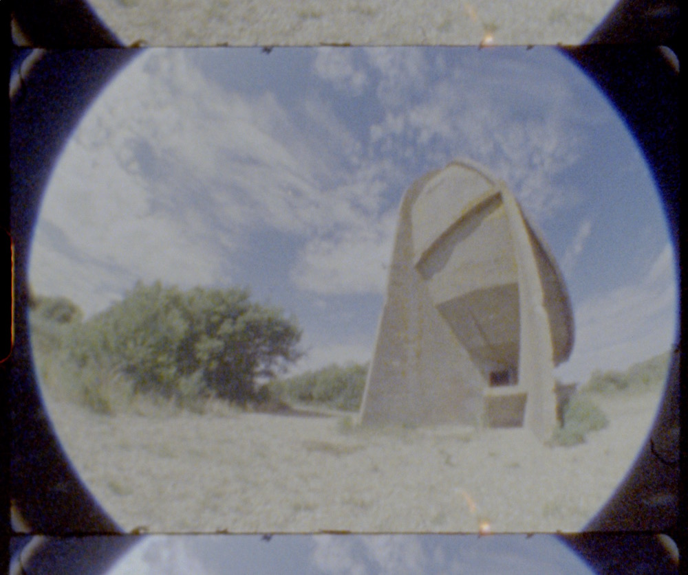 Sound Mirrors - Listening Ears - Dungeness Sound Mirrors - Listening Ears - Dungeness - Denge - Super 8mm - Julian Hand- Denge - Super 8mm - Julian Hand