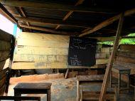 Klassenzimmer in Ojobi