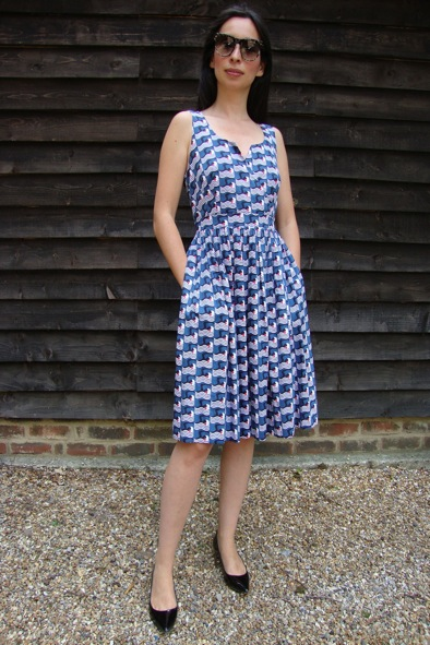 Poolside print Orla Kiely dress