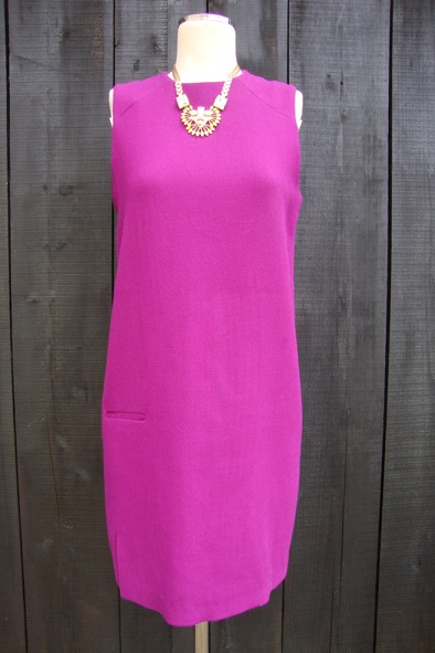 Acne purple shift dress