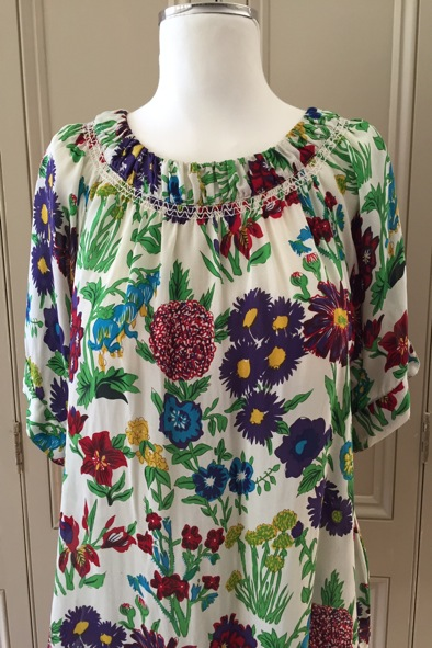 See By Chloe floral silk blouse