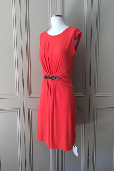 Michael Kors orange dress
