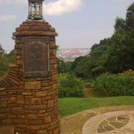 Looking from UKZN to Durban Harbour
