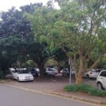 The carpark that Cathy would have run into