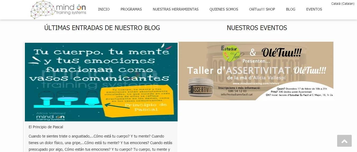 Diseño blog en Tarragona