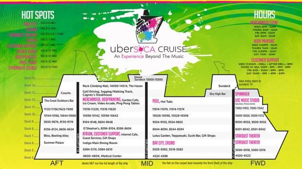 Ubersoca Cruise 2016