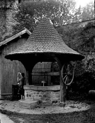 Courtyard well-Romania