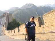 Julian at Great Wall in 2005