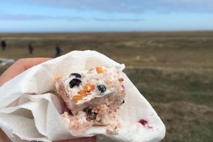 "Making ""akutuq,"" Alaska Eskimo ice cream, and AK-style donuts in the"