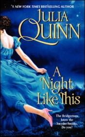 book cover, a Regency woman flees across a field at night