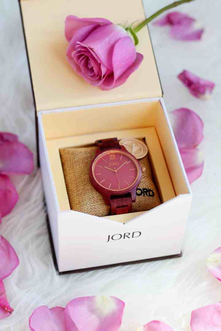 Jord wood watch https://www.woodwatches.com/series/frankie/purpleheart-and-plum