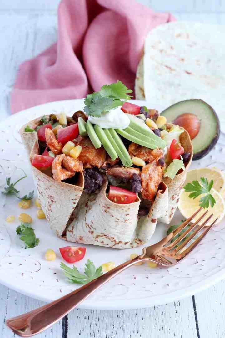 tortilla bowl