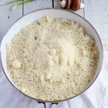 mushroom risotto 4