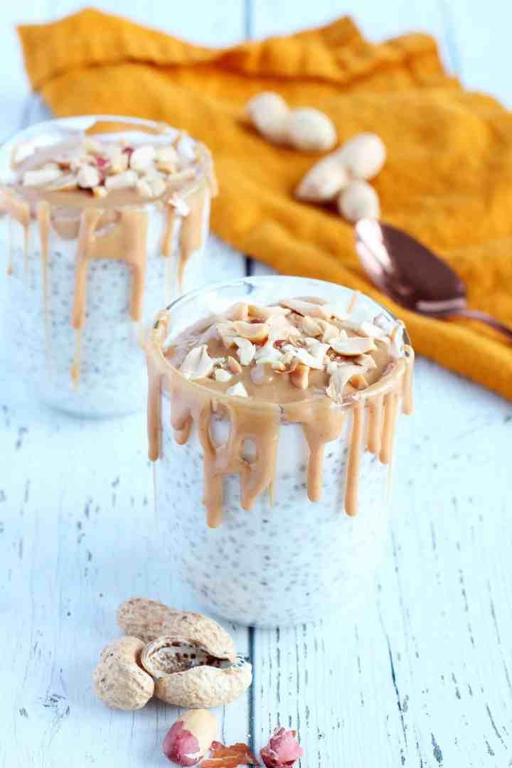 peanut butter chia pudding