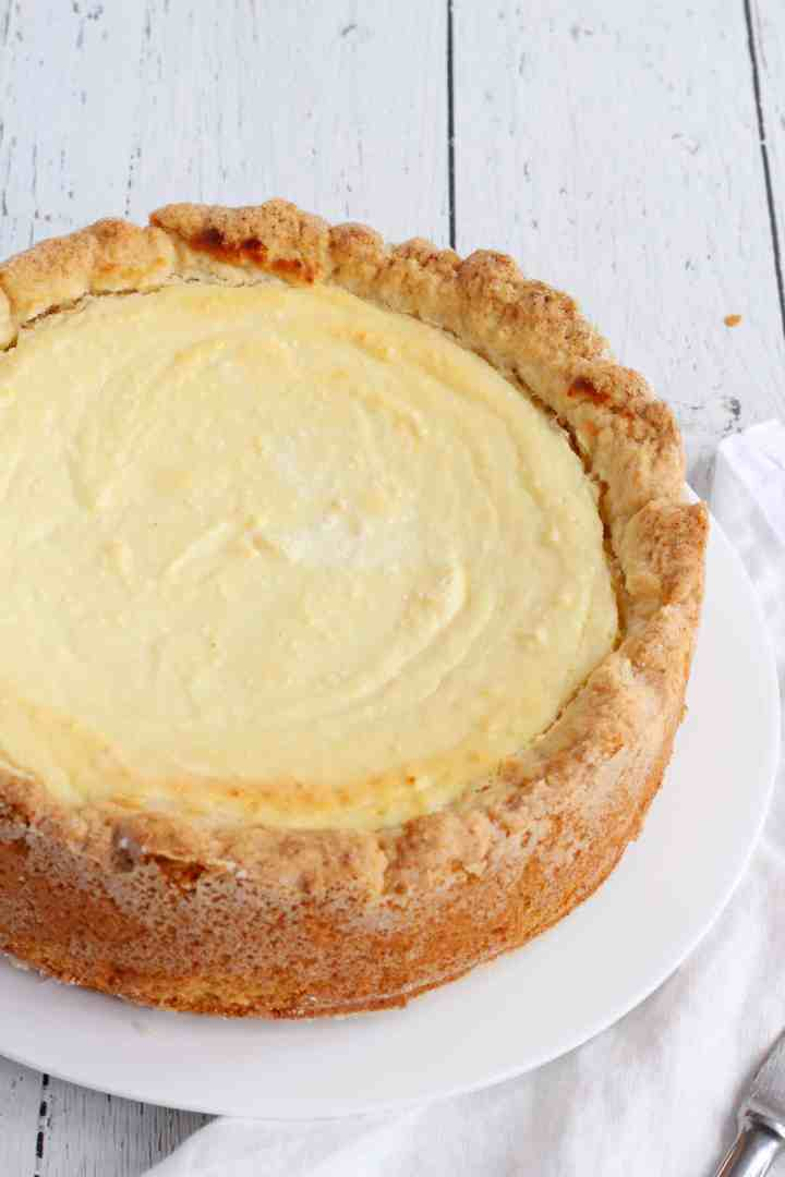rustic pressed cottage cheesecake 5