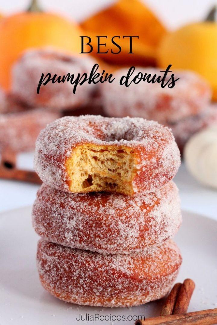 pumpkin donuts doughnuts