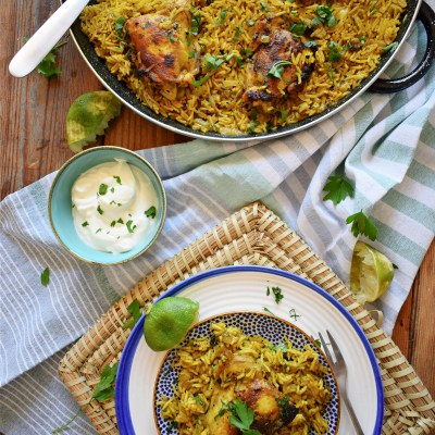 Moroccan Chicken & Rice