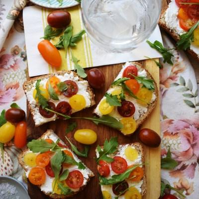 Ricotta & Tomato Toast Recipe