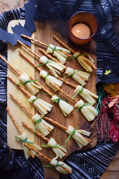 Witches Broomstick Pretzel & Cheese Snacks