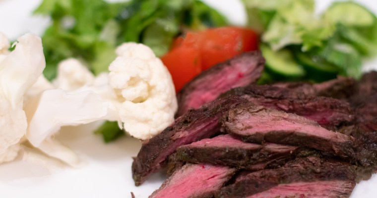 CILANTRO MARINATED SKIRT STEAK