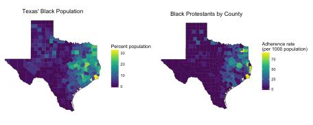Religion Adherence and Demographics