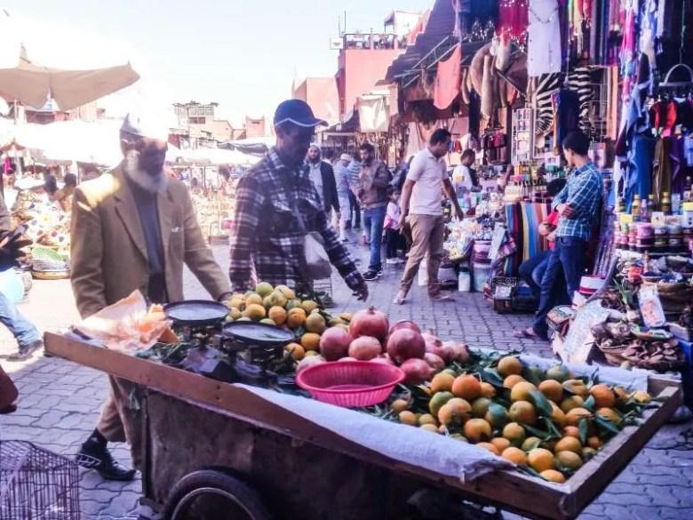 Marrakesh bazaar