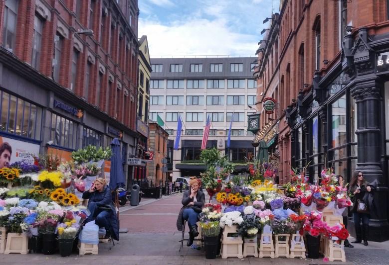 flower shop on grafton street