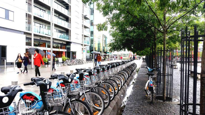 rent a bike Dublin