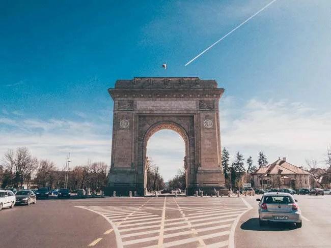 Arcul de Triumf (Arch of Triumph) 10 Amazing Places To Visit When You're In Bucharest