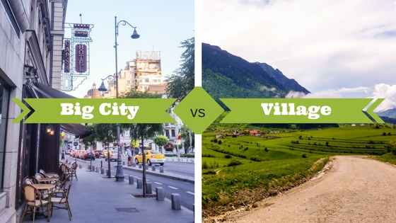 Difference Between Town and City