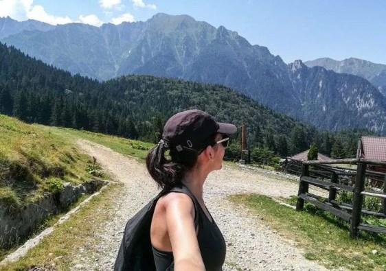Bucegi mountains hiking