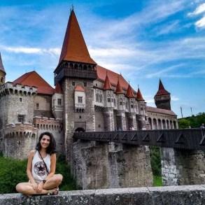 4 day car trip around Romania hunedoara Corvin Castle