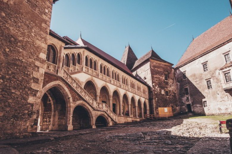 Corvin Castle, the medieval castles of Transylvania