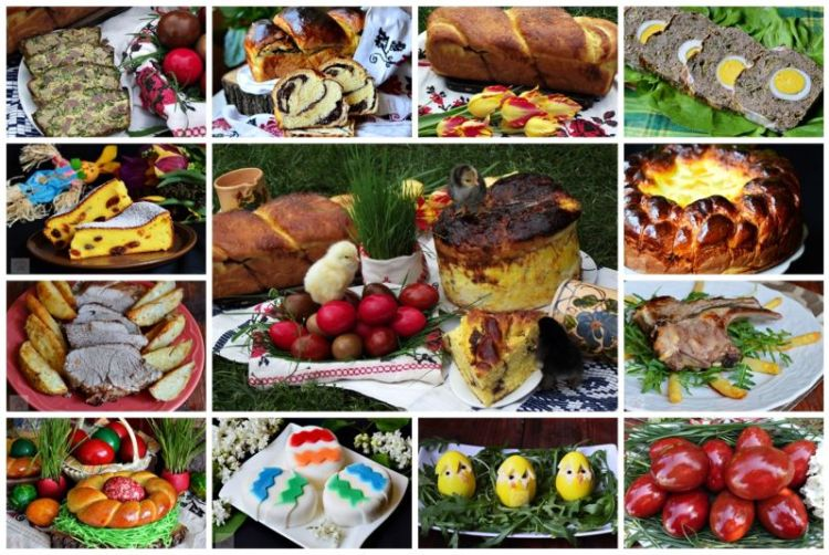 romanian easter traditions easter meal