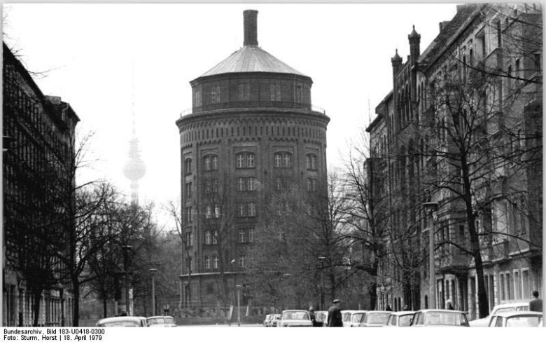 Prenzlauer berg Berlin water tower