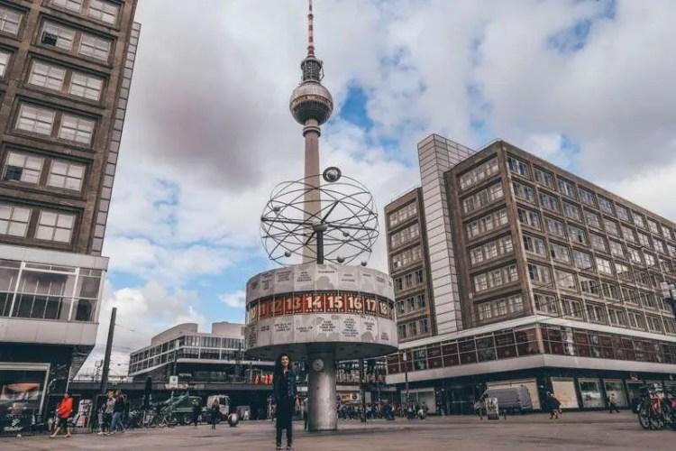 Wombats city hostel berlin self guided walking tour central Berlin Alexanderplatz