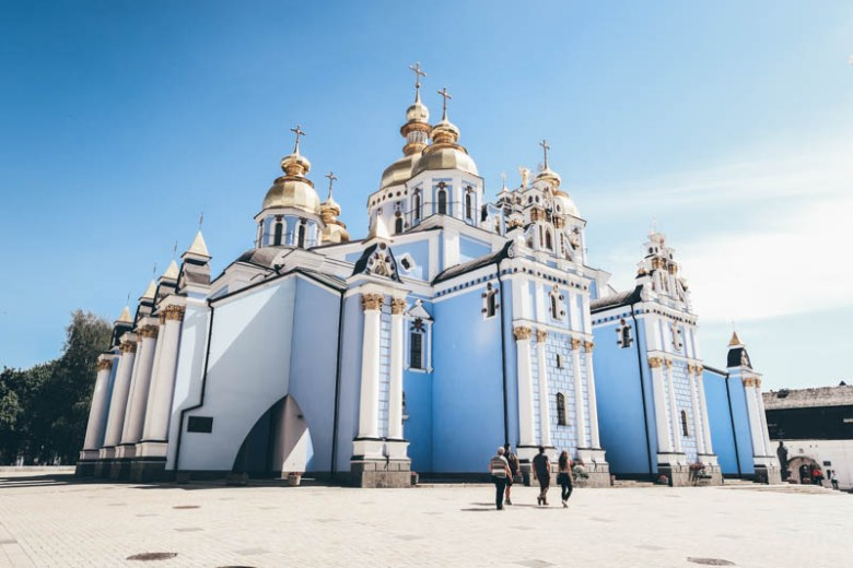 St. Michael's Cathedrale kiev ukraine