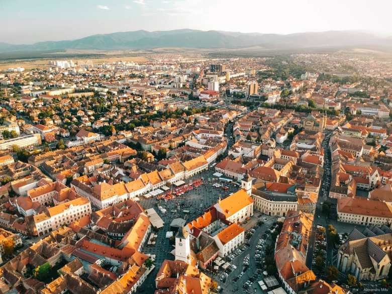 Sibiu heritage trip romania